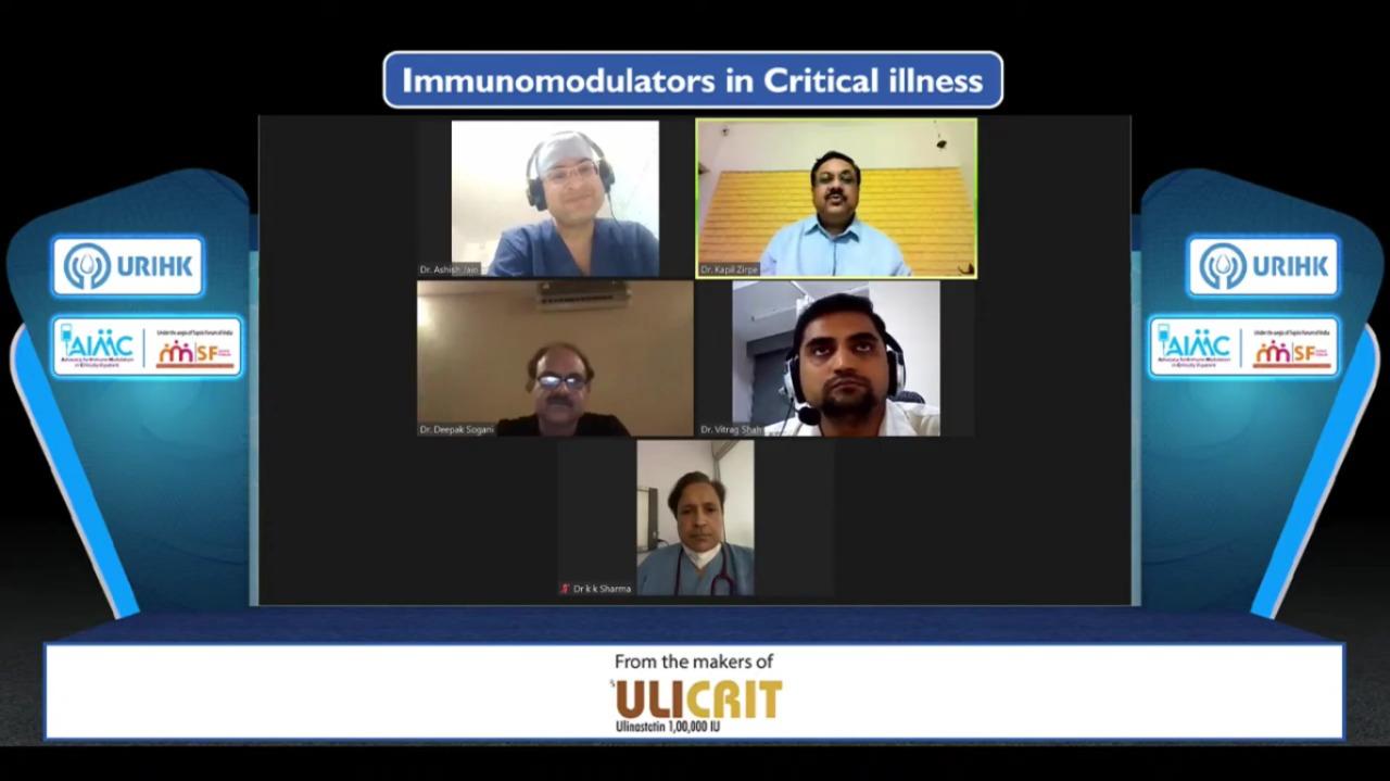 Panel Discussion - Immunomodulators in Crtical Illness Presentation 5 June 21